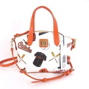 Dooney & Bourke Orioles baseball crossbody bag B1